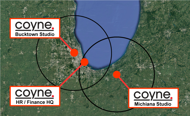 coyne architects office locations