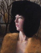 """Winter Baroness"" 2015 20""x16"" Oil on Linen"