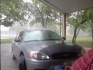 Rain, again.