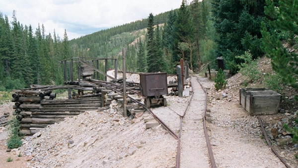 Washington Mine Illinois Gulch