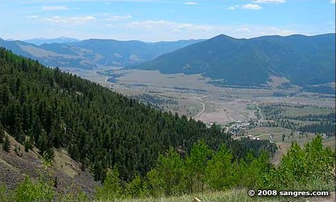 Rio Grande Valley near Creede.