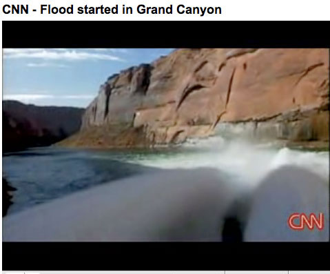Pulse flow for Grand Canyon March 5, 2008