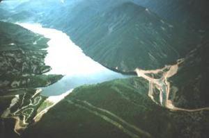 Ruedi Dam and Reservoir