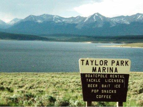 Taylor Park Reservoir