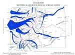 Diagram depicting average streamflow leaving Colorado -- graphic/State Engineer