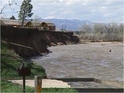 Fountain Creek flooding 1999 via the CWCB