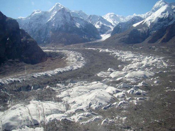 Inylchek Glacier Kyrgyzstan
