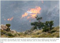 High Park Fire June 14, 2012