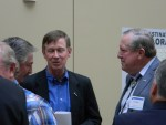 Governor Hickenlooper, John Salazar and John Stulp at the 2012 Drought Conference