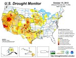 US Drought Monitor October 15, 2013