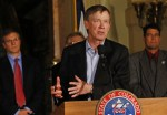 Governor Hickenlooper announcing new methane rules -- Associated Press via the Washington Post