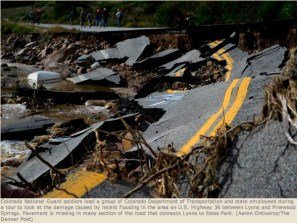 US 36 West of Lyons September 2013 via the Longmont Times-Call