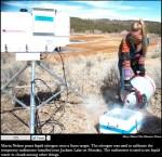 Calibrating the radiometer via The Durango Herald