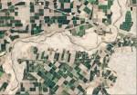 Landsat view of Colorado River pulse flow in Mexico April 2014