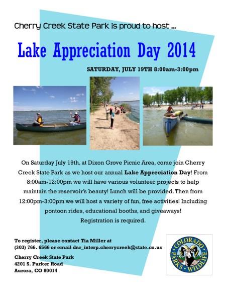 lakeappreciationday2014cherrycreekstatepark