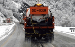 De-icer application via FreezGard