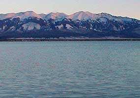 The country's second largest potato producing region, is in its 18th year of drought in 2020. The San Luis Valley in Colorado is known for its agriculture yet only has 6-7 inches of rainfall per year. San Luis Lake via the National Park Service