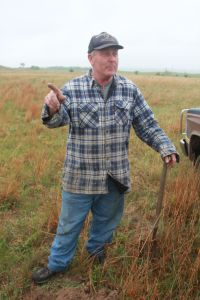 Karl Connell objected to the terms offered by TransCanada and to the very presence of a pipeline across his ranch along the Niobrara River. May 2012 photo/Allen Best