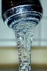 Tap water via Wikimedia