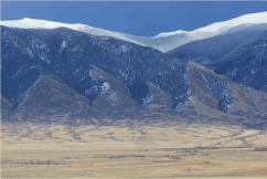 The northern end of Colorado's San Luis Valley has a raw, lonely beauty that rivals almost any place in the North American West. Photo/Allen Best