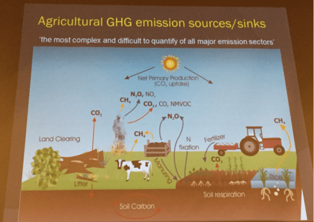 Agricultural GHG emissions/sinks, Keith Paustian, South Platte Forum, October 27, 2016.