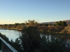 Colorado River from the River Front Trail.