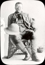 Theodore Roosevelt dressed in expedition attire. By Smithsonian Institution Archives - Smithsonian Institution Archives, Public Domain, https://commons.wikimedia.org/w/index.php?curid=21968308