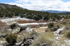 A view of a diversion dam on Costilla Creek in Taos County, New Mexico. The dam is adjacent to New Mexico State Road 196, near Costilla, New Mexico. By Jeffrey Beall - Own work, CC BY 4.0, https://commons.wikimedia.org/w/index.php?curid=68493556