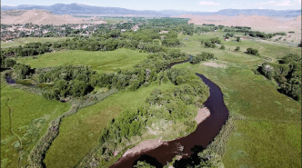 "Screen shot from the Vimeo film, ""Rio Grande Headwaters Restoration Project: Five Ditches,"" https://vimeo.com/364411112"