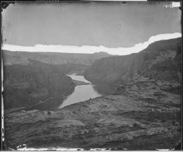 Glen Canyon in 1873, near the confluence of the Colorado and San Juan Rivers. By Timothy H. O'Sullivan - U.S. National Archives and Records Administration, Public Domain, https://commons.wikimedia.org/w/index.php?curid=17428088
