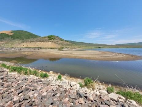 Stagecoah Reservoir Inlet June 16, 2021. Photo credit: Scott Hummer