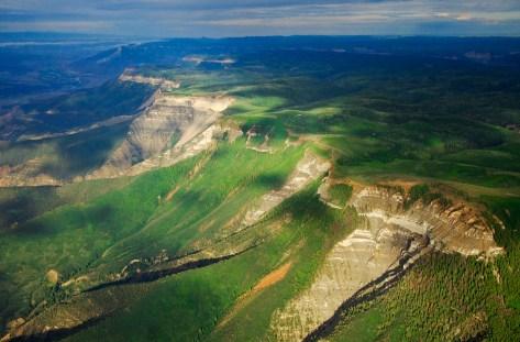 Roan Cliffs Aerial via Rocky Mountain Wild