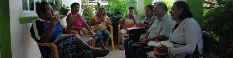 Mapeo participativo en El Bejuco y La Barra – primera parte