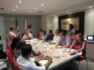 Presentación del proyecto Coyuca Resiliente al Clima al Gobierno Estatal