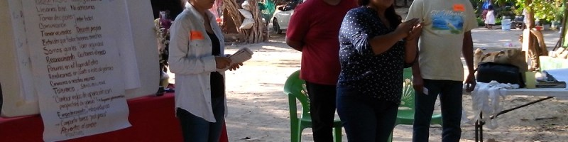 Coyuca Resiliente al Clima en Foro de mujeres pescadoras