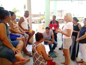 Grupo focal La Barra; planeando acciones