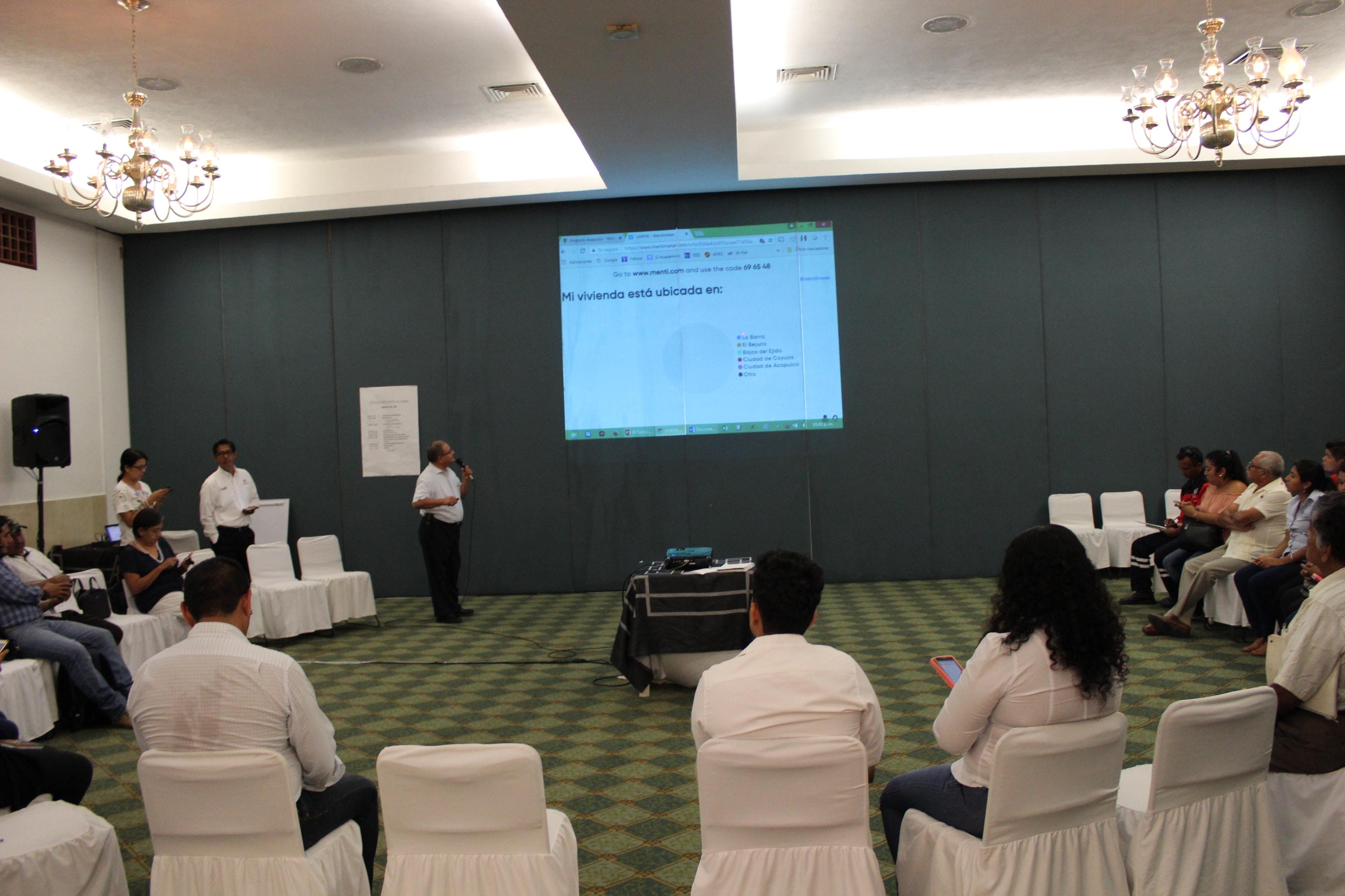 Capacitación De la nueva agenda urbana, al proyecto Coyuca Resiliente al Clima