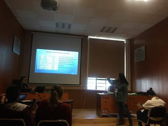 Participación de ponencia en el primer Seminario Internacional de Educación Ambiental y desarrollo sustentable