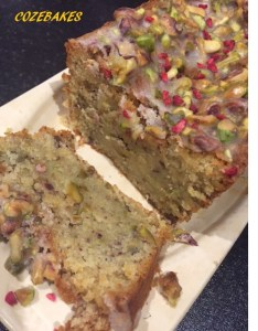 gluten free, gluten free cakes, pistachio cake, limoncello, limoncello baking, almond cake, cozebakes