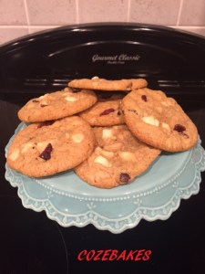 gluten free cookies, gluten free recipe, cookies, cozebakes, cranberry cookies, white chocolate, easy cookie recipe, easy gluten free cookie recipe, gluten free biscuit recipe, gluten free biscuits