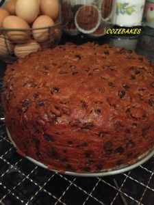 christmas cake, christmas cake recipe, fruit cake, christmas baking, easy christmas cake recipe, cozebakes