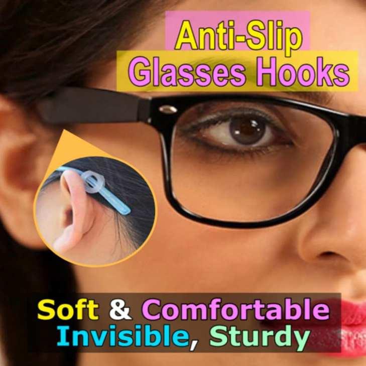 Anti Slip Glasses Hooks