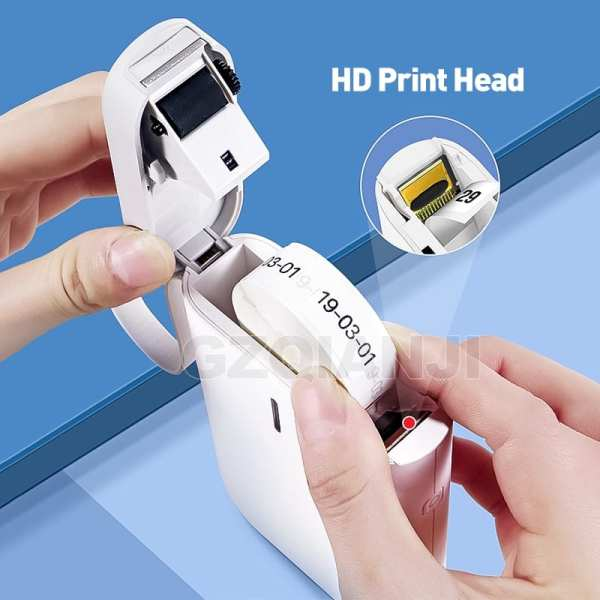 D11 Wireless label printer Portable Pocket Label Printer Portable BT Thermal Label Printer Fast Printing Home