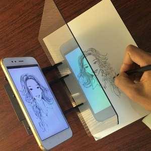 Optical Image Drawing Board