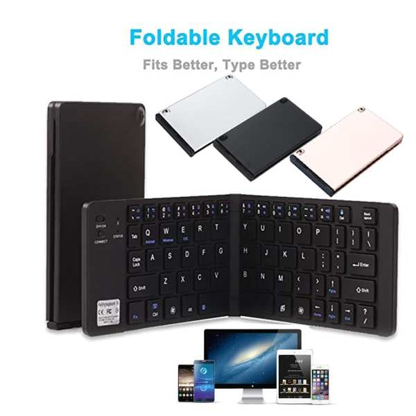 Ultra Foldable Wireless Keyboard