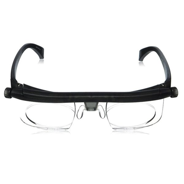 Lens Flexible Frame Adjustable Nose Pad Adjustable Degree Glasses Universal Focal Length Correction Myopia Reading Glasses