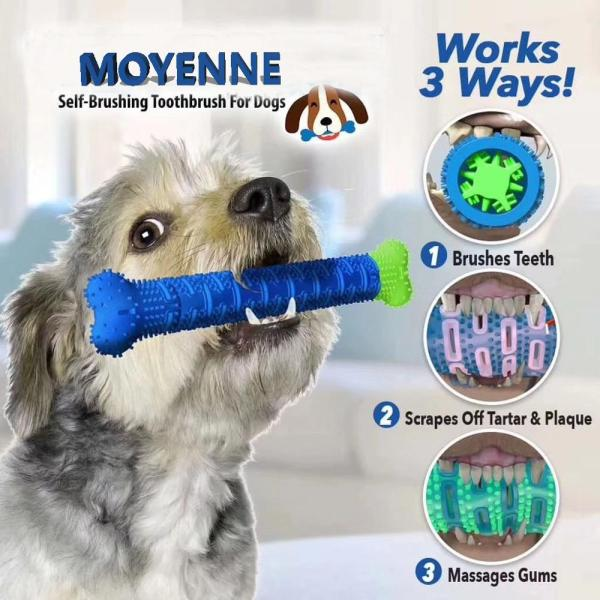 2020 New Dog Chew Toys Dog Toothbrush Pet Molar Tooth Cleaning Brushing Stick Doggy Puppy Dental