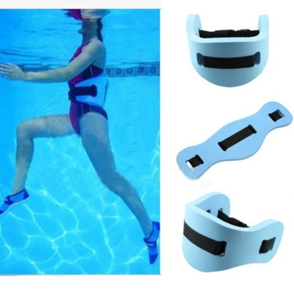 62x22x2 5cm EVA Swim Ring Adjustable Back Foam Swimming Learner Belted Waist Float Board Adult Children