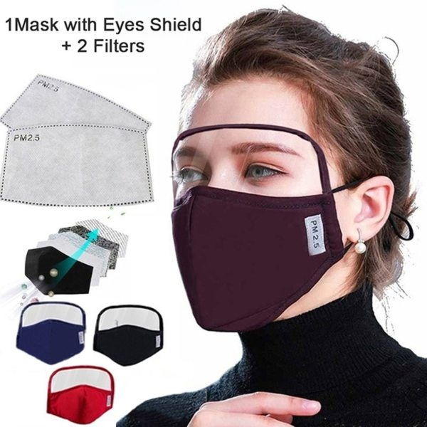 Cotton Dustproof outdoor With Eyes Shield 2 Filters Windproof Adult In Stock Breathable