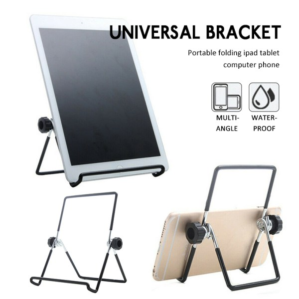 Foldable Tablet Mobile Phone Desktop Holder Mount Stand For Phone Adjustable Foldable Minimal Mobile Tablet Stand